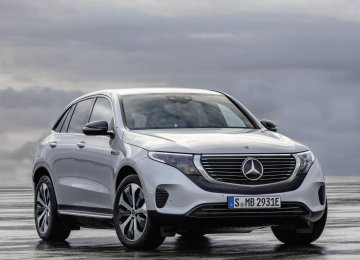 Mercedes Unveils First Fully Electric Car