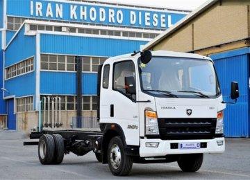 Iran Khodro Releases Persika Minitruck