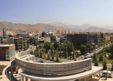 A science park outside Tehran.