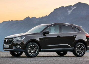 Iran's car market is getting overcrowded with the entry of Borgward.
