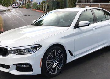 The new 5 series sedan costs $52,000 in the international market.