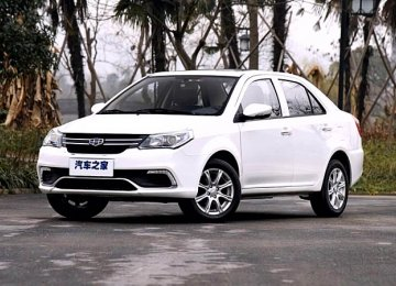 Production of Geely's GC6 Begins in Iran