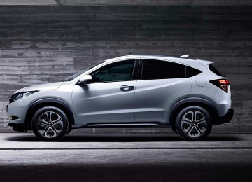 The HR-V is Honda's attempt to offer an affordable crossover.