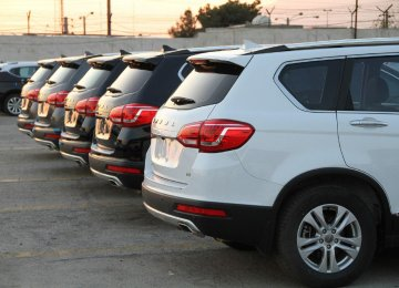 Due to TPO's move 5,000 cars are stuck in the customs.