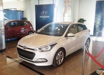 Kerman Motor assembles several Hyundai models in Iran including the i20.