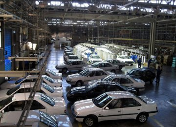 Automakers in Iran usually offer a high interest rate on customers' down payment.