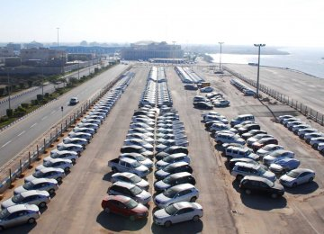 During the nine months to Dec. 21, cars and heavy-duty vehicles with a total value of $1.16 billion were imported.