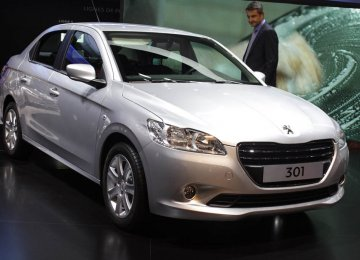 The Peugeot 301 offered by IKCO comes with a 1.6 liter, 113-hp engine linked to  a 6-speed automatic transmission.