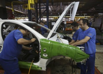 Iran has plans to produce 1.5 million cars in the current fiscal that started on March 21.