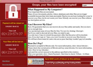 WannaCry Malware Atacks Persist