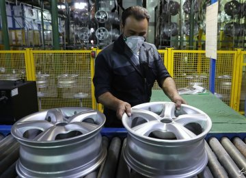 Car Wheel Factory Opens in Shiraz
