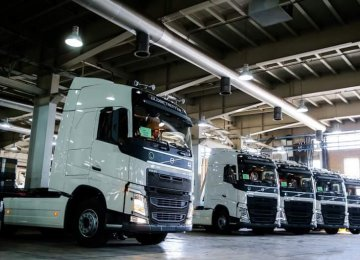 Volvo has made its comeback through a joint venture deal with SAIPA Diesel.