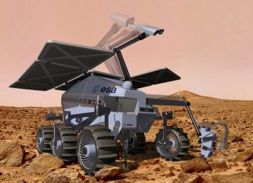 ESA Mars Rover Undergoing Final Tests