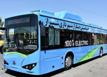 Green vehicles in public transport play a major role in reducing air pollution.