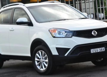 SsangYong's New Korando on Presale