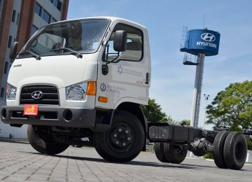 Hyundai Trucks Made in Iran for Iraqi Kurdistan