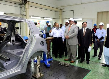 Auto Parts Makers Visit Pakistan