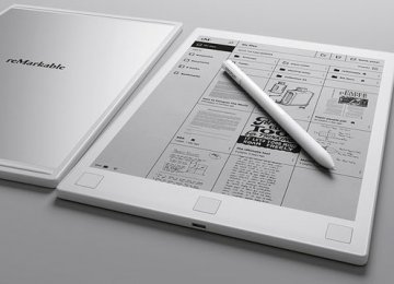 Paper-Like Tablet Arrives