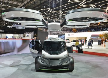 Volkswagen's auto designer Italdesign and Airbus at last year's Geneva Auto Show presented a two-seater flying car.