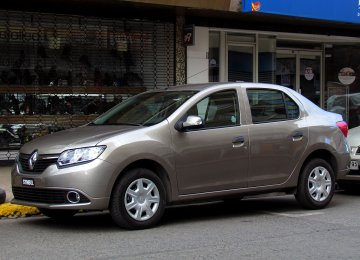 The Symbol sedan is expected to be produced in Iran in early 2018.