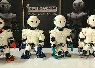Iran Unveils New Mini Robot