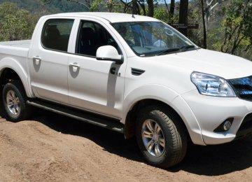 Iran Khodro Diesel Pickup Upgraded