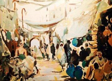 Iranian-Armenian Painter Showing Impressionist Works