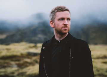 Iceland Composer Performs in Andisheh