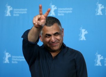 Mani Haghighi at the 66th Berlinale, 2016