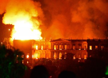 Brazil's National Museum Engulfed by Massive Fire