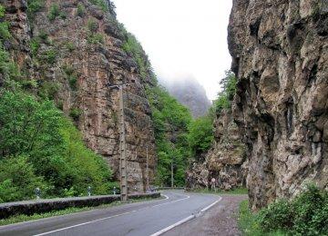 Chalus Road Mishaps Down