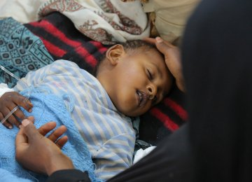Yemen Cholera Worst Global Outbreak