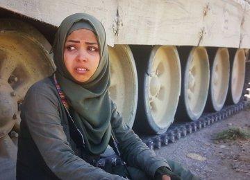 A screenshot from 'Women With Gunpowder Earrings'