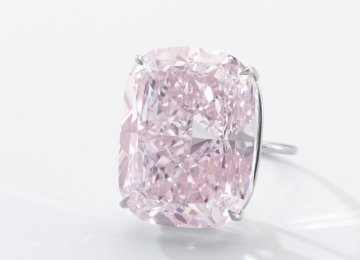 Sotheby's Will Auction Largest Pink Diamond