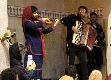Accordion, Violin Performance  in Shiraz