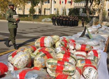 Drugs Seized in Yazd
