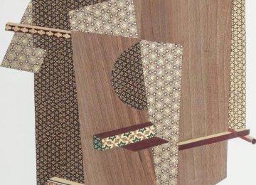 Museum in LA Showing Farhad Ahrarnia's Khatam Works
