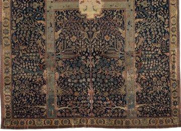 Lower half of Wagner Garden Carpet