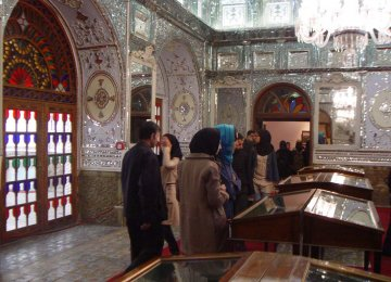 Golestan Palace Displaying 82,000 Artifacts