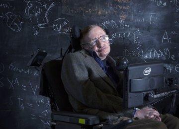 Physicist Hawking Dies at 76