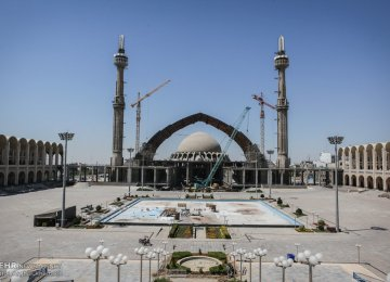 Imam Khomeini Mosalla has not been completed after nearly 30 years.