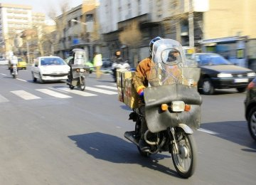 Restrictions for Motorcycles in Central Tehran