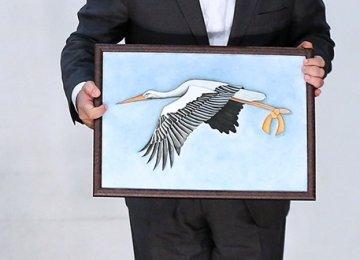 White Stork Symbol for MS