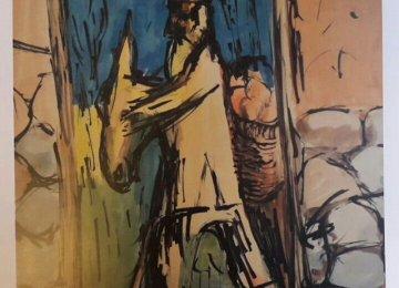 Pezeshknia Painting Stolen