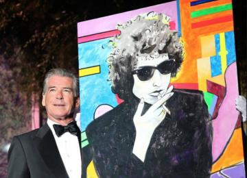Pierce Brosnan Sells $1.4m Painting to Help Charity