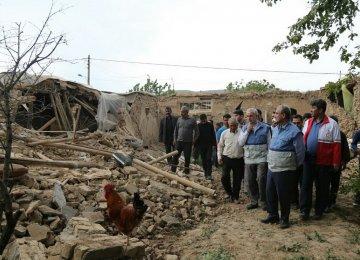 Insurance Will Pay for Bojnurd Quake-Hit Buildings