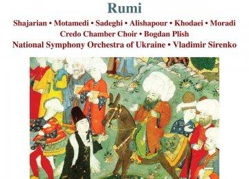 Behzad Abdi's Rumi Opera in 2 CDs