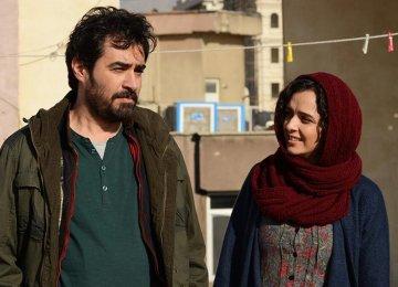 Shahab Hosseini (L) and Taraneh Alidoosti in Salesman