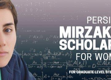 Maryam Mirzakhani Scholarship for Women