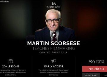 Scorsese Forays Into e-Learning